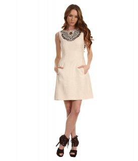 Kate Spade New York Domino Dress Womens Dress (Beige)