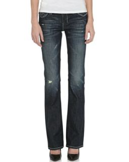 Oaxaca Slim Boot Cut Jeans, Indigo