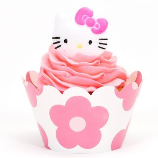 Hello Kitty Cupcake Wrapper Combo Kit