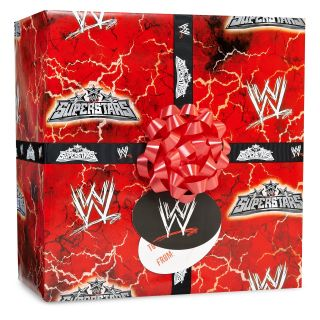 WWE Gift Wrap Kit