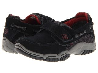 Sperry Top Sider Kids Jett Junior A/C Boys Shoes (Black)