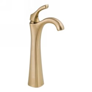 Delta Faucet 792 CZ DST Addison Single Handle Lavatory Faucet with Riser, Less P