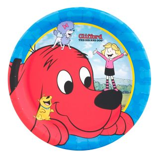 Clifford The Big Red Dog Dinner Plates