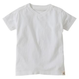 Burts Bees Baby Toddler Boys V Neck Tee   Cloud 3T
