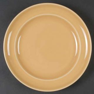 Pottery Barn Sophia Yellow Salad Plate, Fine China Dinnerware   All Yellow,Smoot