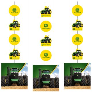John Deere Tractor Fancy Hanging Cutouts